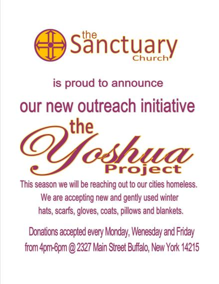 yoshua project flyer